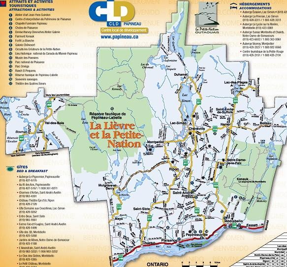 Papineau (Lièvre / Petite-Nation) (MRC / Sub-region) / Papineau (Lièvre / Petite-Nation) (MRC / sous-région)