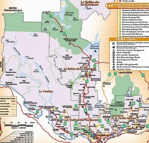 Outaouais Region / Région de l'Outaouais