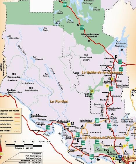 Pontiac (MRC / Sub-region) / Pontiac (MRC / Sous-région)