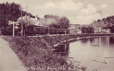 Railway, from the bay, c.1920s