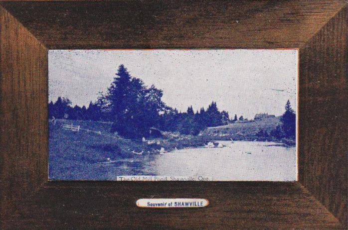 Ancienne carte postale, vers 1905. (Collection privée) / Early postcard, c.1905. (Private collection)