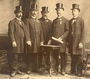 La délégation d'Aylmer / The Aylmer delegation (1901)