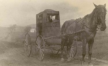 Livraison rurale de la poste / Rural mail service