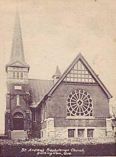 Église presbytérienne St. Andrew's / St. Andrew's Presbyterian Church