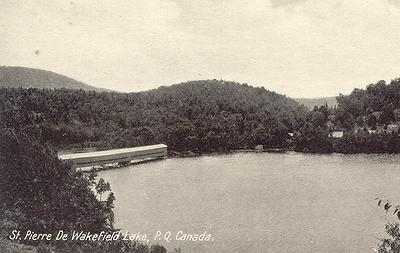 Saint-Pierre-de-Wakefield Lake, 1940s