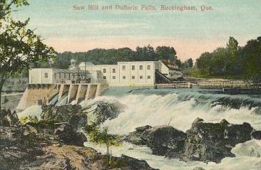 Scierie et les chutes Dufferin / Sawmill and Dufferin Falls