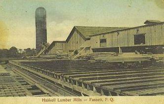 Scierie Haskell / Haskell Lumber Mills