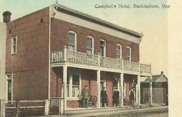 Hôtel Campbell / Campbell's Hotel