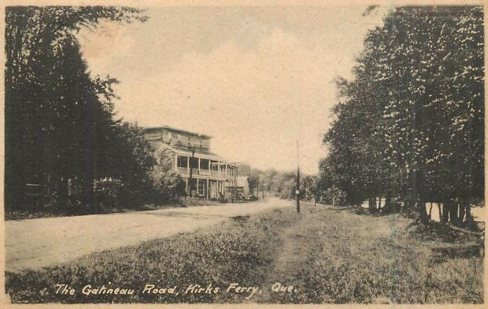 The Gatineau Road, Kirk's Ferry, c.1920. 