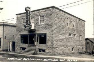 Maniwaki -- Café Cécile