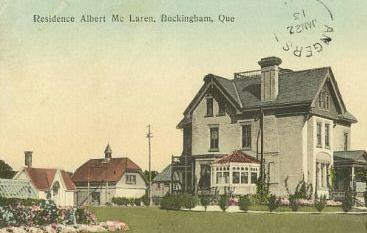 Maison Albert McLaren / Albert McLaren Residence