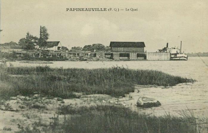 Papineauville -- Le quai / The pier
