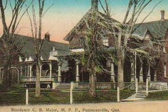 Résidence de C. B. Major MPP / Home of C. B. Major, MPP
