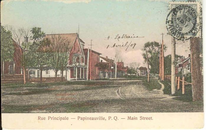 Rue Principale / Main Street