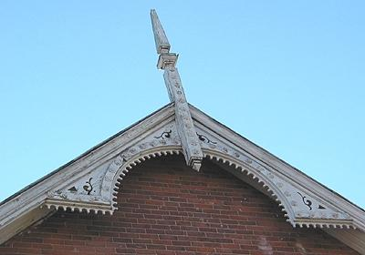 Masonic Lodge (detail)