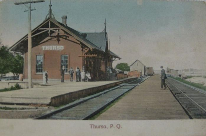 Gare, Thurso, vers 1905 / Train station, Thurso, c.1905