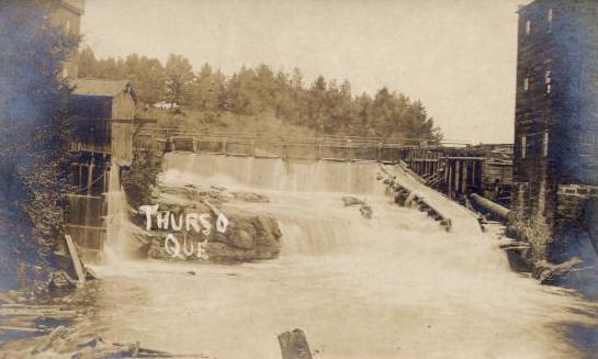 Rivière et barrage / River and dam