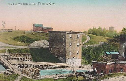 Moulin à laine Black / Black's Woolen Mills