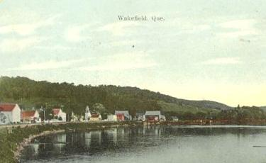 Wakefield, from the Gatineau River, c.1910