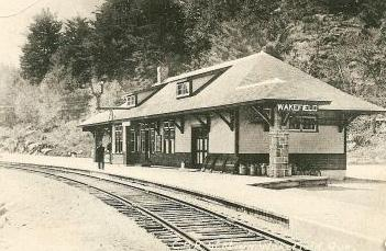 Canadian Pacific Railway station, c.1920s