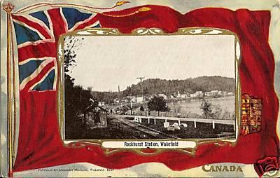 Rockhurst Station, Wakefield, 1905