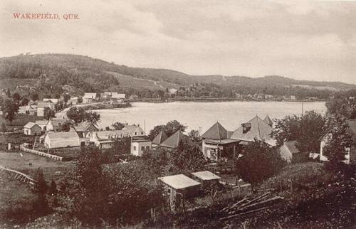 The village and bay, c.1910