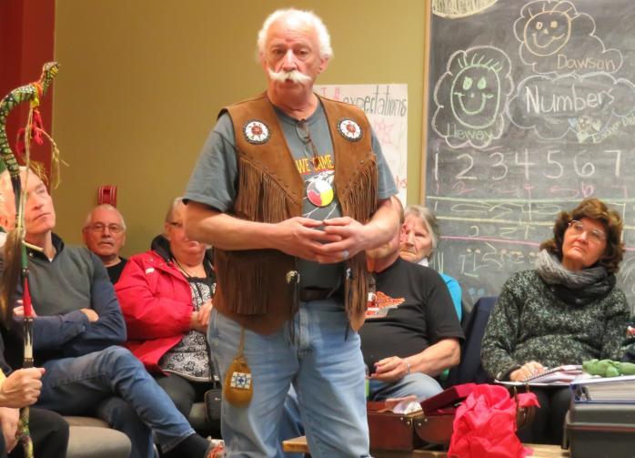 Guest speaker Chief Roger Fleury. Photo - Renee Arshinoff