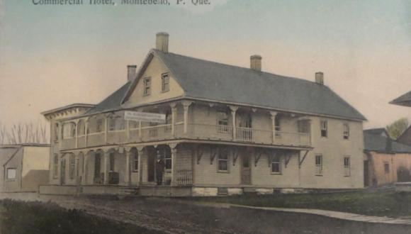 Commercial Hotel, Montebello, 1910