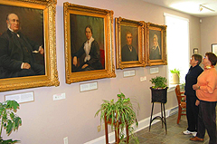 Exhibition rooms, Aylmer Heritage Association. (Photo - Matthew Farfan)