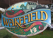 Welcome sign, Wakefield. (Photo - Matthew Farfan)