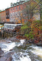 Maclaren Mill from the bridge. (Photo - Matthew Farfan)